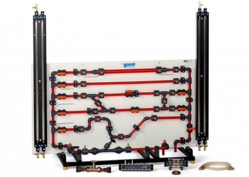 Fluid Friction Test Apparatus