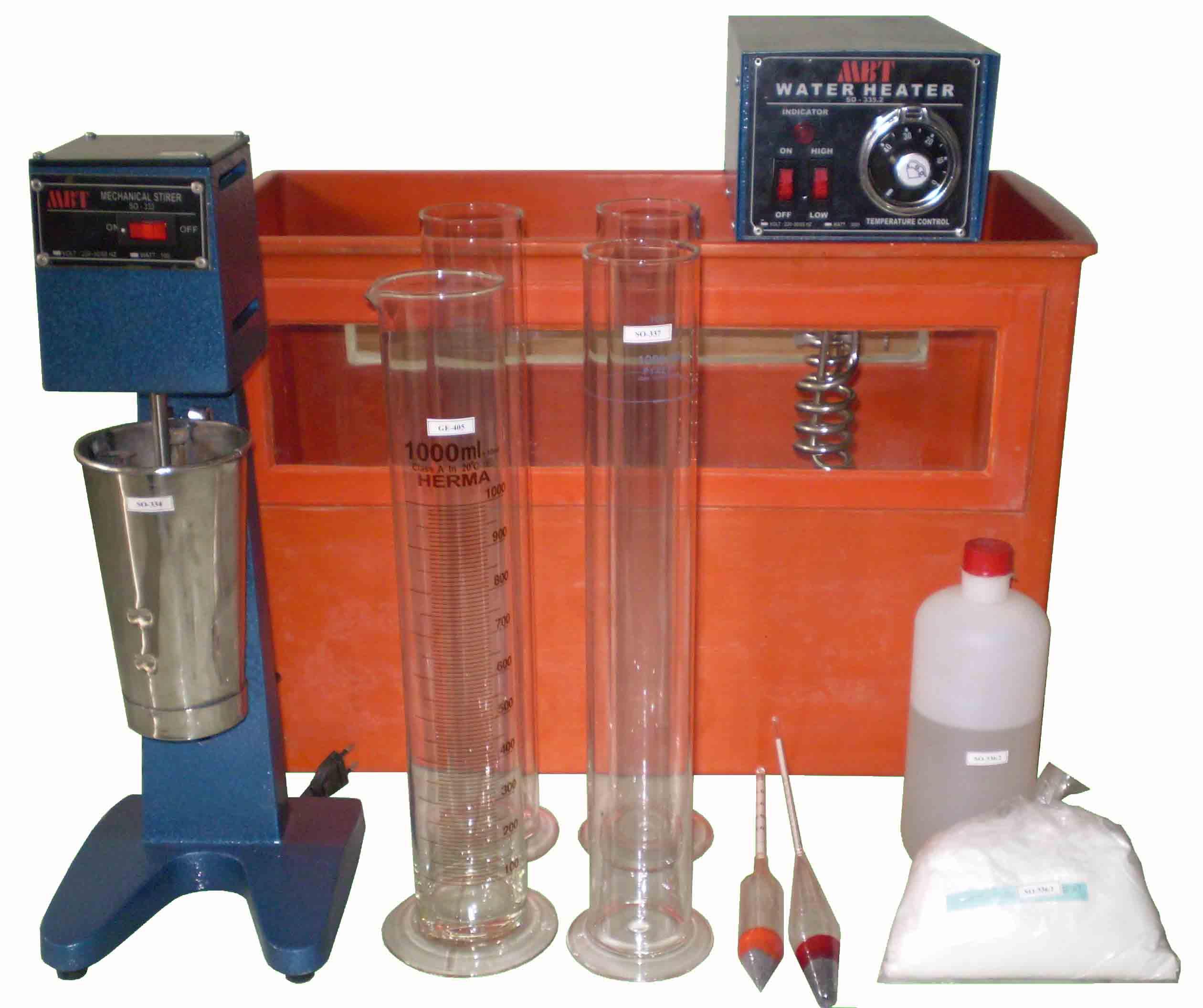 Hydrometer Analysis Test